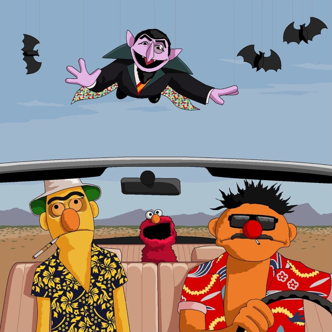 Bat Country by Jim'll Paint It
